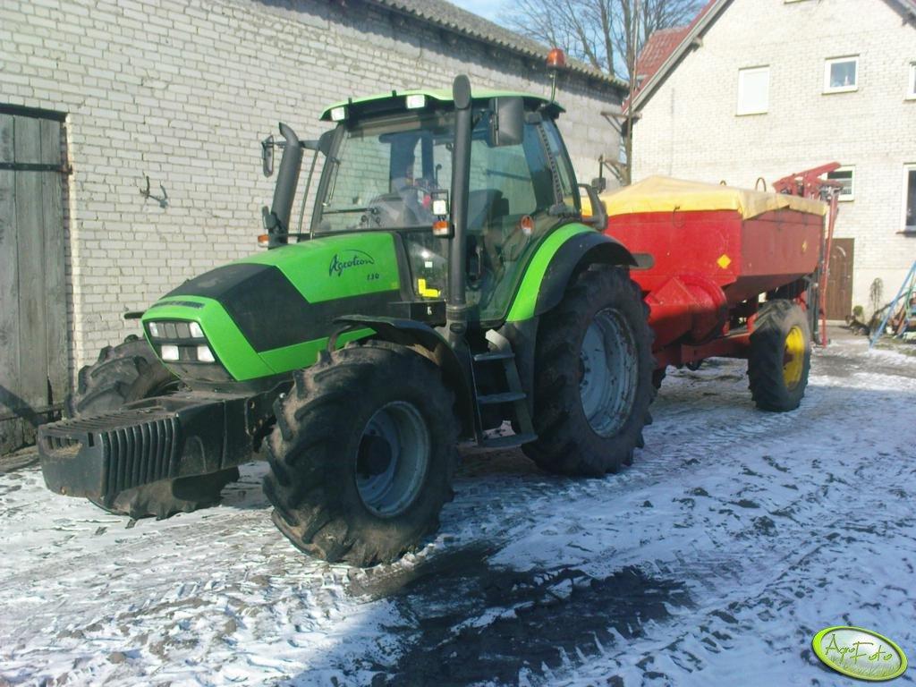 Deutz Fahr Agrotron 130 i Overum Tive Tronic 6018