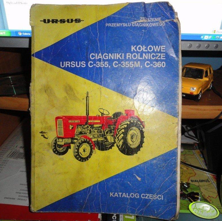 Katalog części Ursus C-355, C-360
