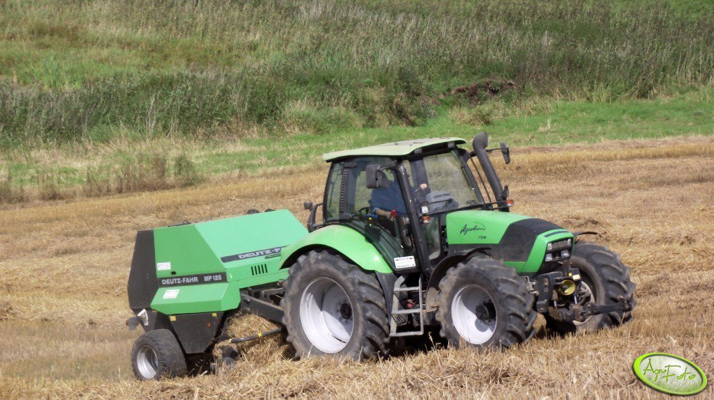 Deutz Fahr Agrotron 150 & Deutz Fahr MP125