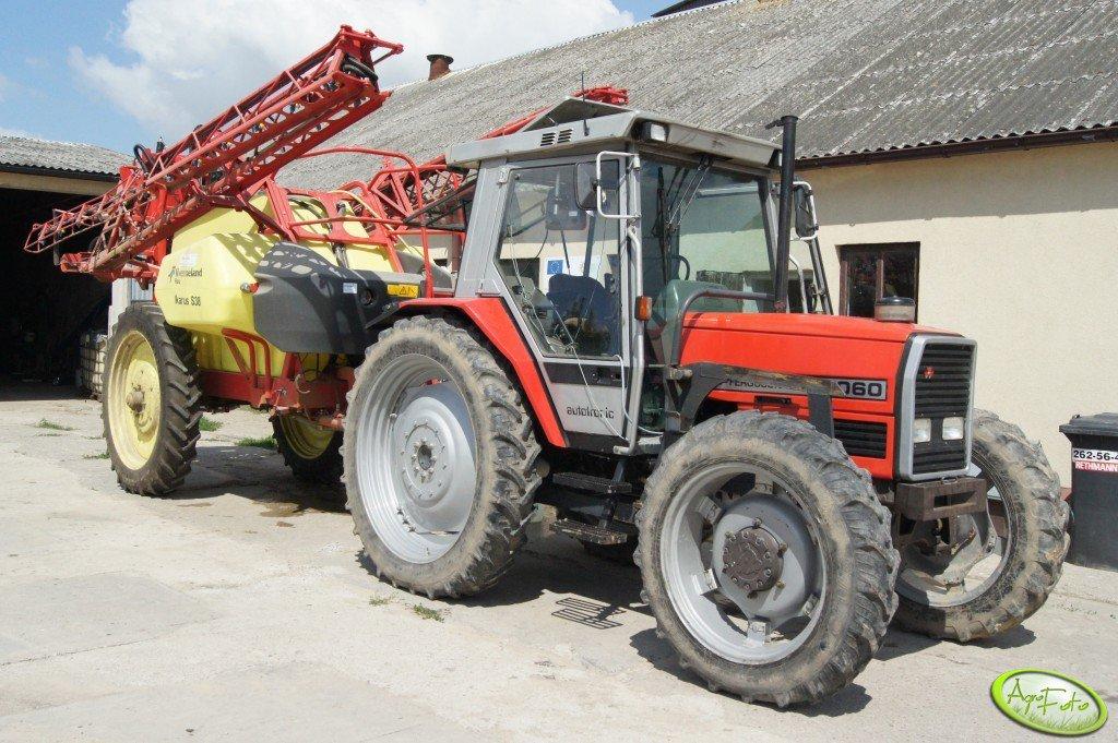 MF 3060 + Ikarus S38