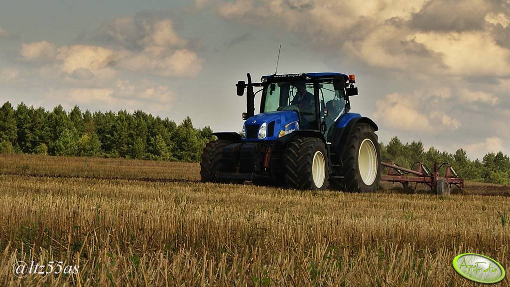 New Holland T6050 + UG Atlas