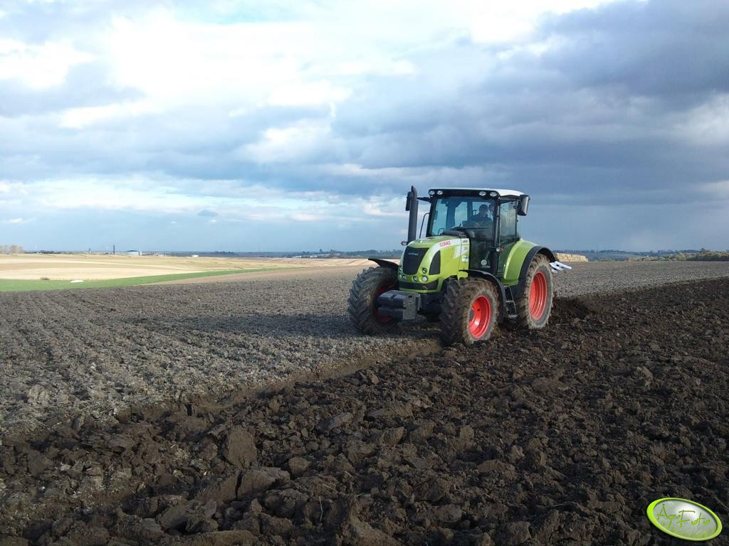 Claas Arion 620 Cis + Vogel&Noot Permanit 3S-MS950