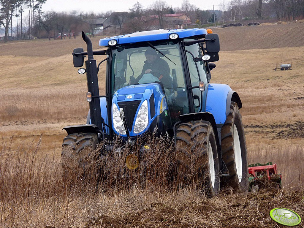 New Holland T6080 PC & Ares TL3