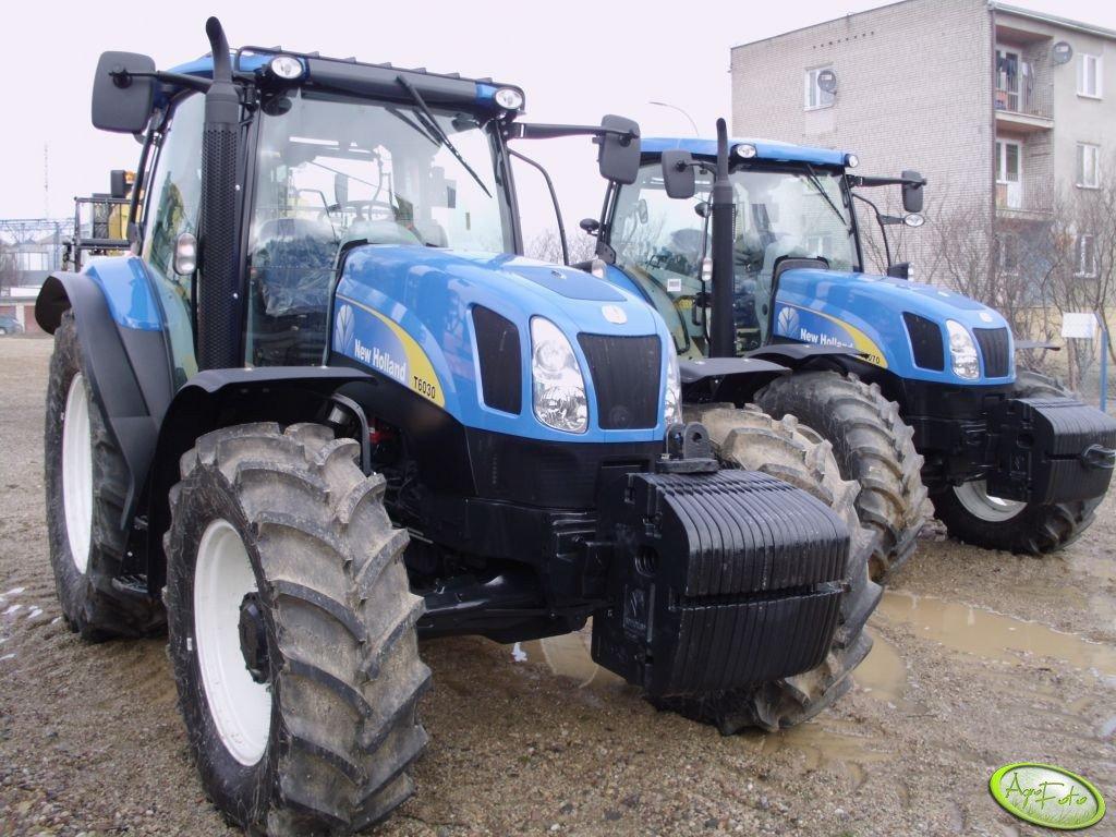New Holland T6030 Delta & T6070 Plus