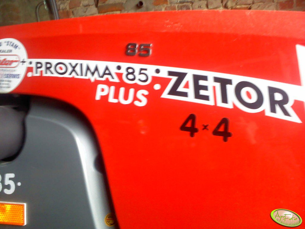 Zetor Proxima 85