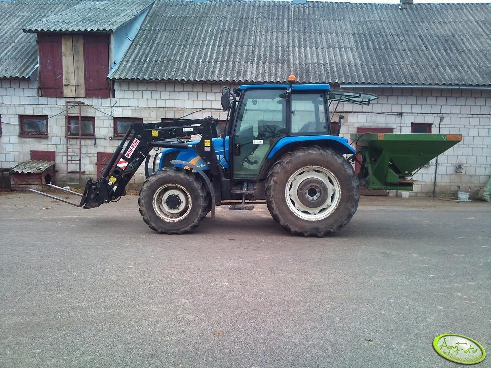 New Holland TL80A & Metal-Fach & Amazone