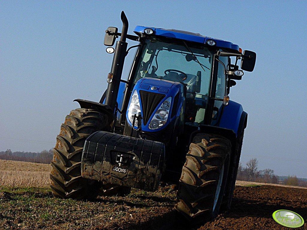 New Holland T6080 PC & Overum CVL 498H