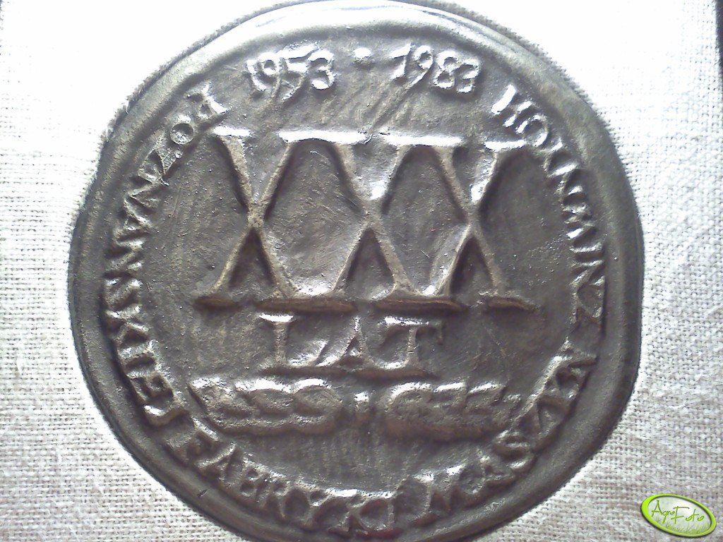 Medal Pamiątkowy.