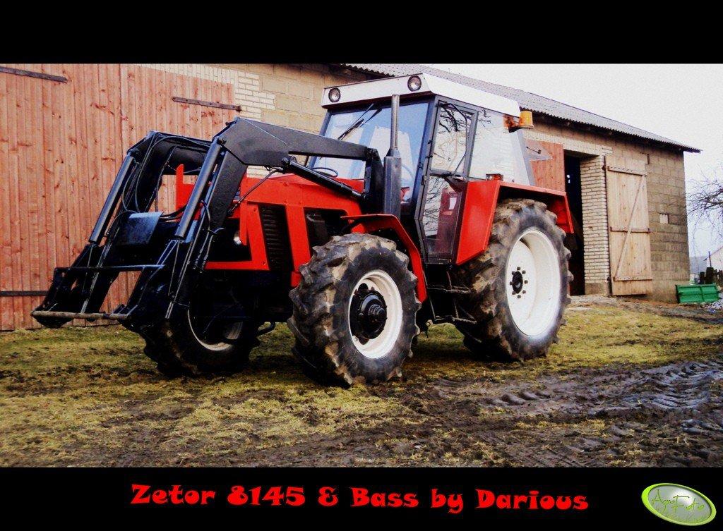 Zetor 8145 & Bass