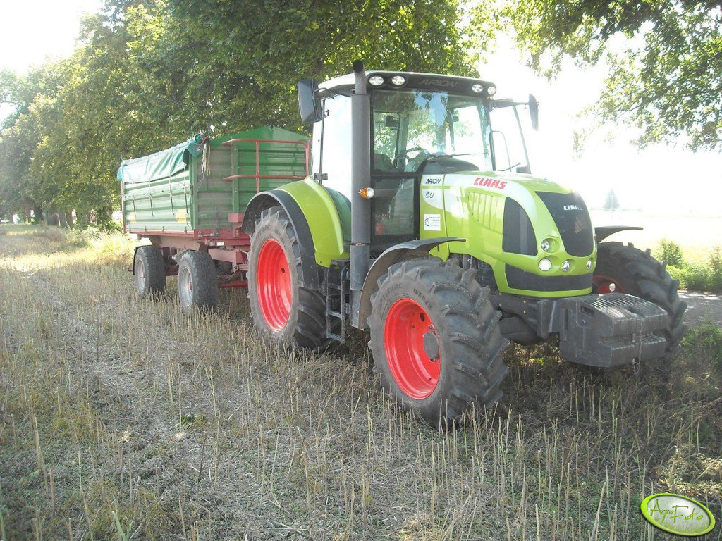 Claas Arion 610 + Metaltech db10000