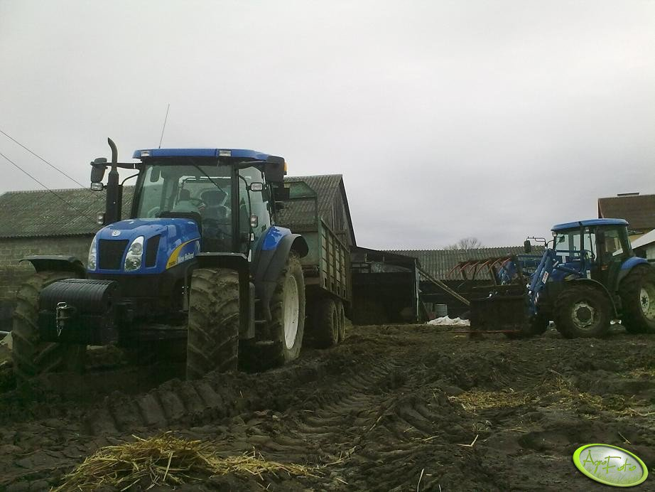 New Holland T6050 Plus + New Holland TD80D