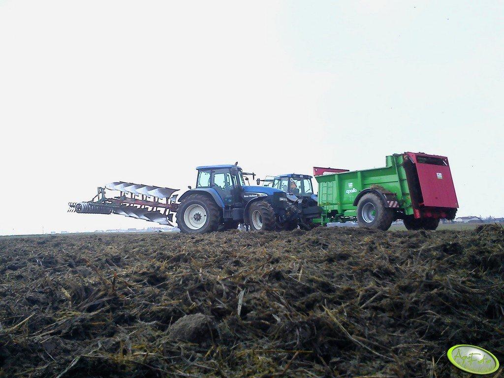 New Holland TM175 + TM150