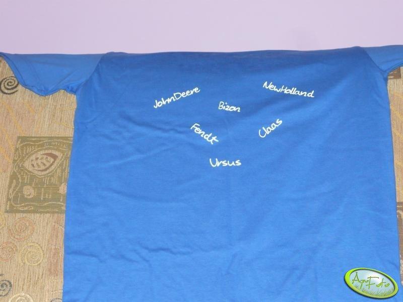 Koszulka MrZgredy- JohnDeere ,NewHolland, Bizon,Ursus,Claas, Fendt