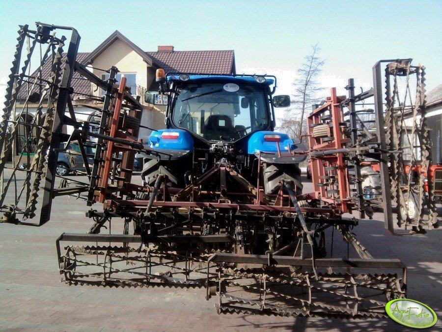 NH T6030 + Agregat 5m