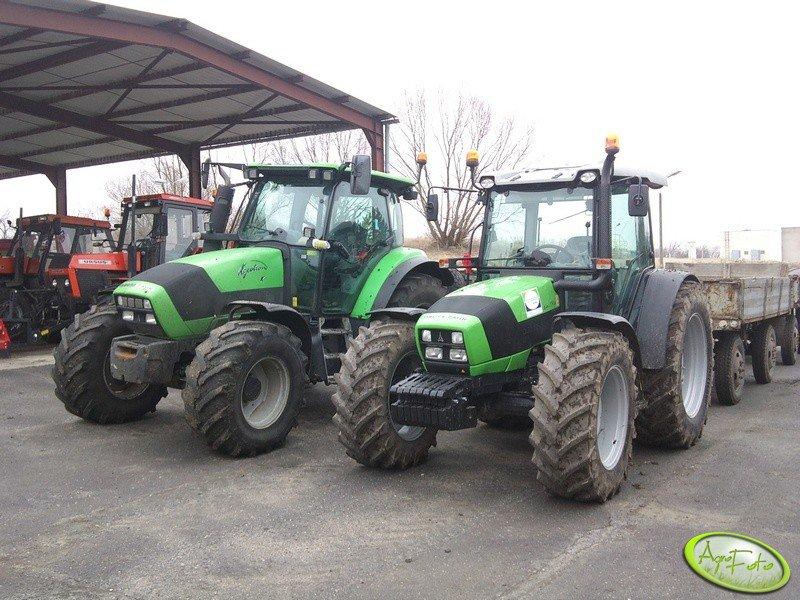 Deutz Fahr Agrofarm 430 TTV & Deutz Fahr Agrotron K110 & Ursus 934 & Ursus 1014