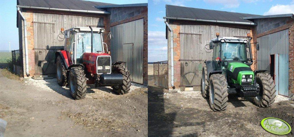 Massey Ferguson 3060 evolution ----> Deutz Fahr Agrofarm 430 TTV