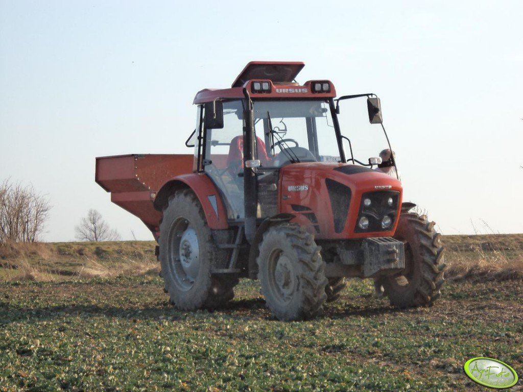 Ursus Mido 5524 + Kuhn ZSB 900