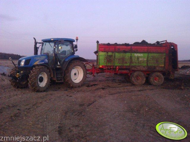 New Hollnad T6020 + Tytan