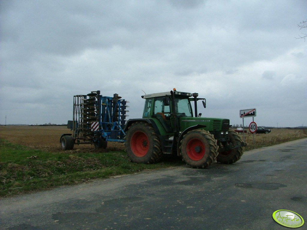 Favorit 515 & Farmet Disker