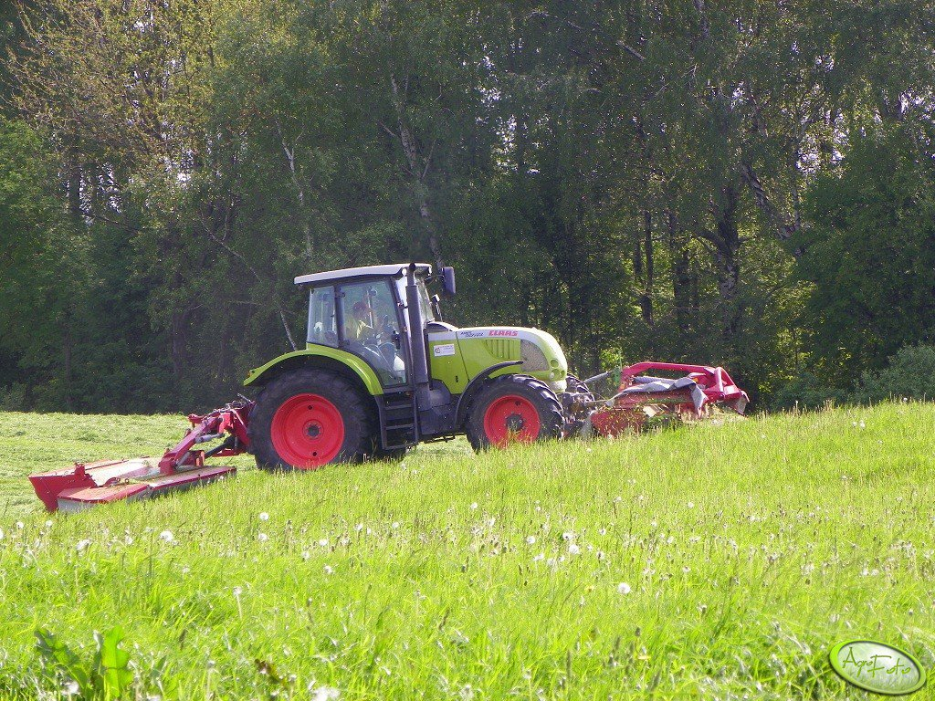 Claas Ares & 2 X JF-Stoll