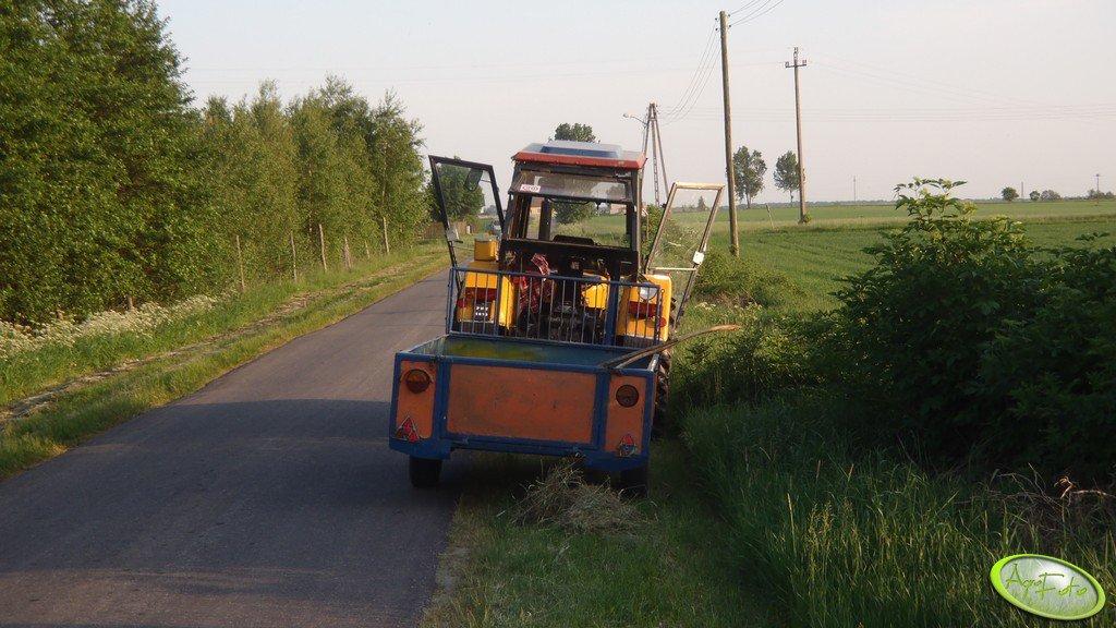 Ursus C-360 i wózek