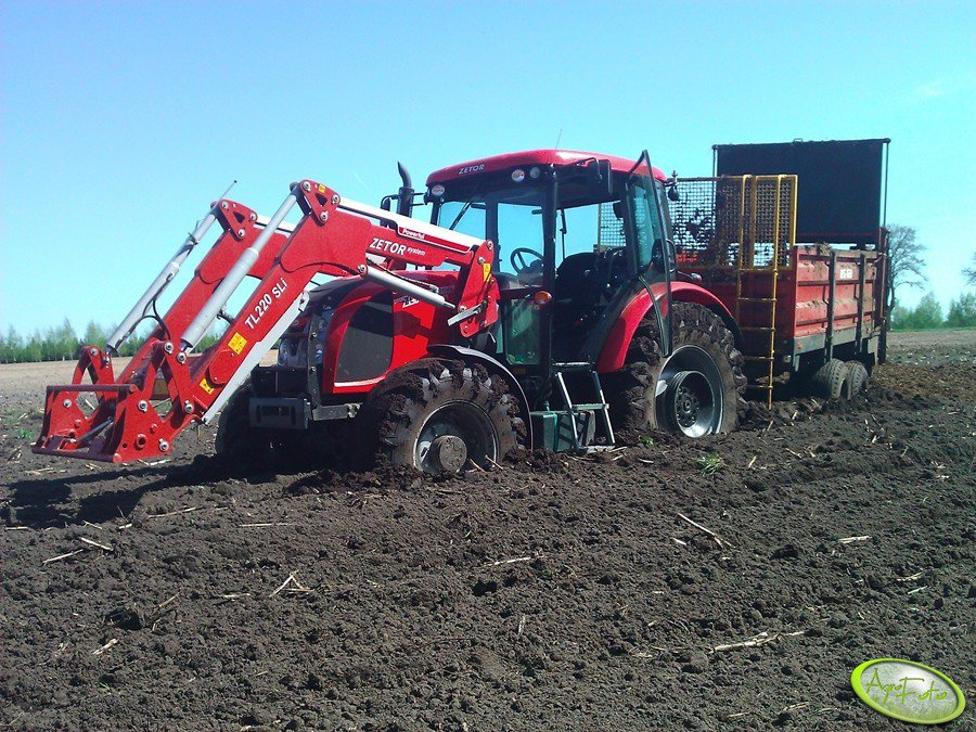 Zetor Proxima Power 95 + Metal Fach