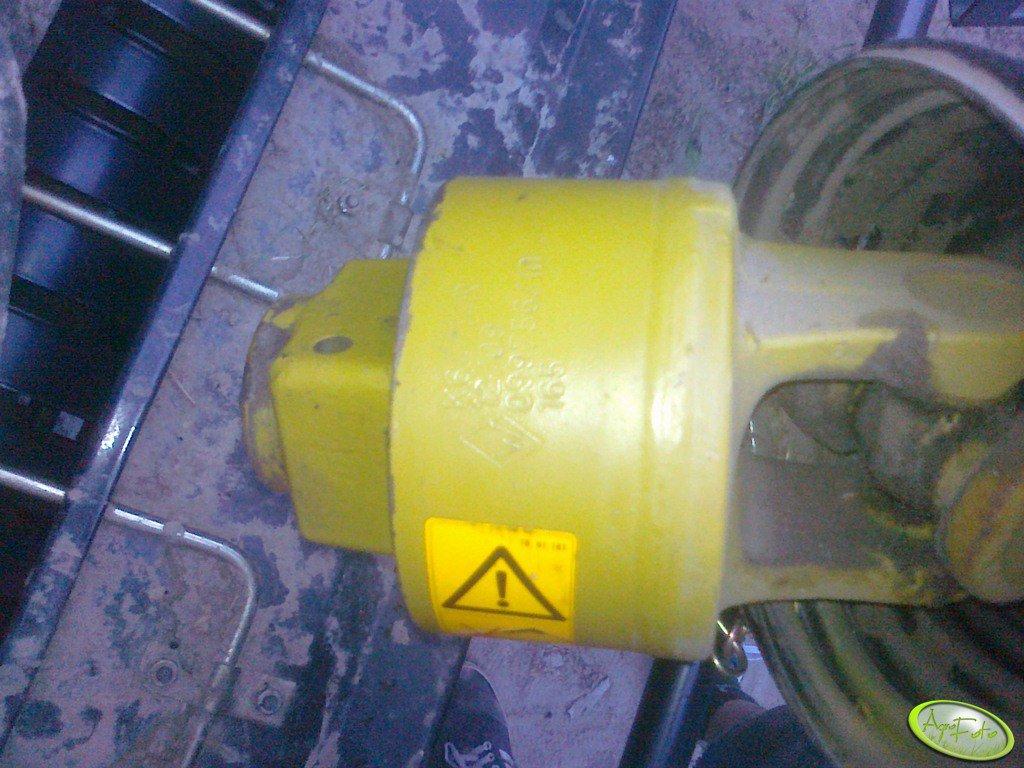 Case RB344R - sprzęgło WOM