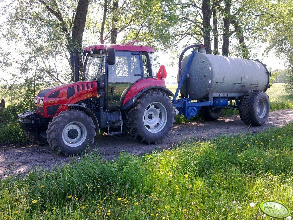Pronar P7 5112 + Strau mix 7500l