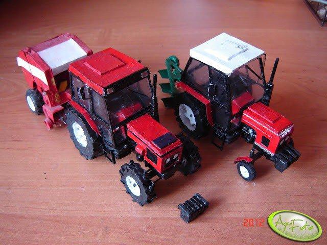 Zetor 6340 i Zetor 5011
