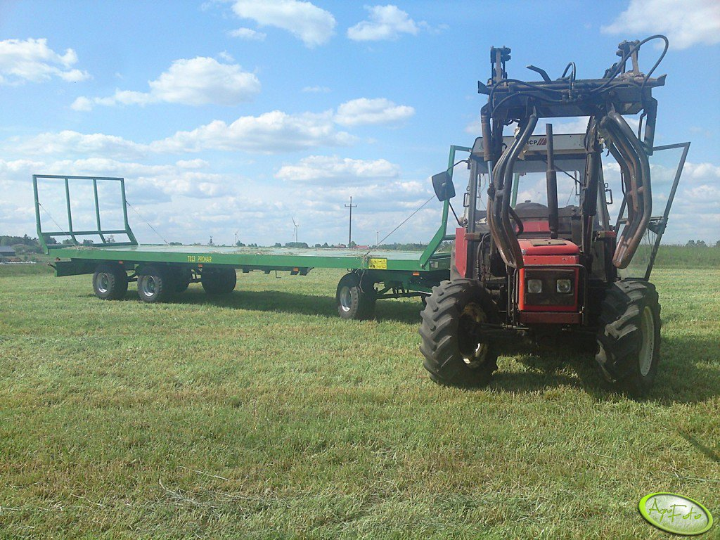 Zetor 7340 + Tur Chief 13 Fars Dyt + Pronar TO23