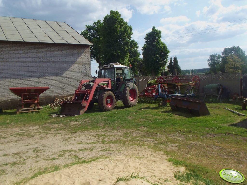 Fendt Farmer 306 LSA i maszyny