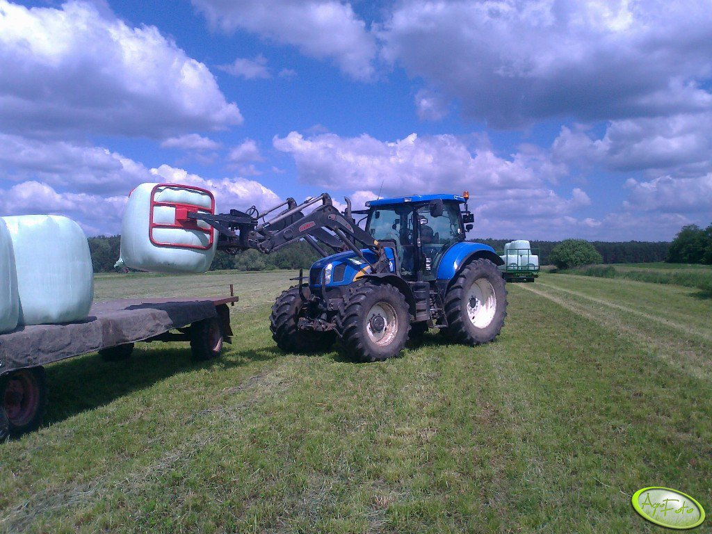 New Holland T6070PC + Stoll