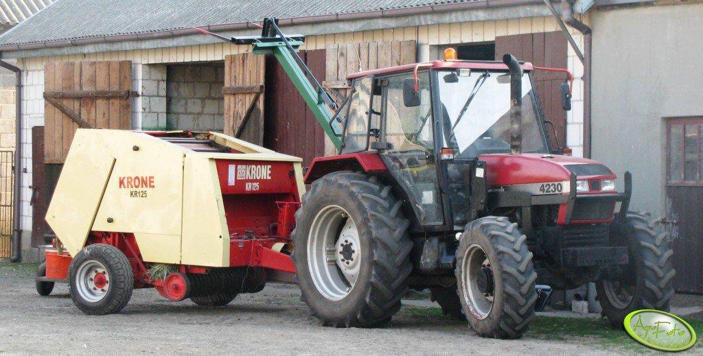 Krone KR125 + Case 4230