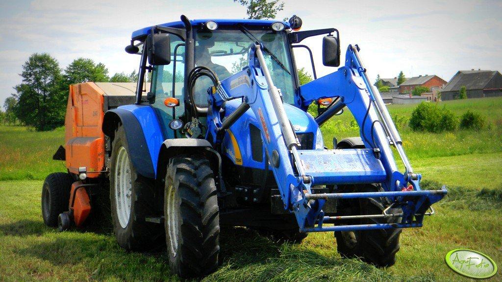 New Holland T5040 + Warfama Z543