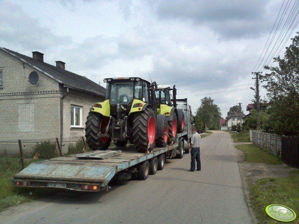 Claas Arion 430 & Claas Arion 630