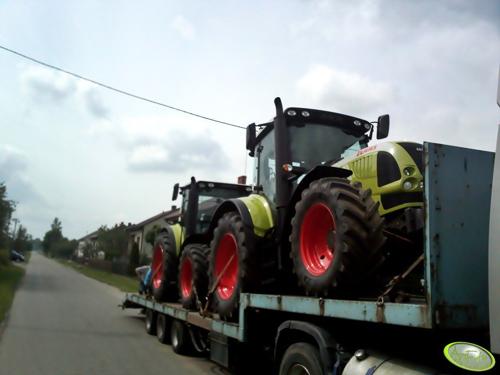 Claas Arion 630 & Claas Arion 430