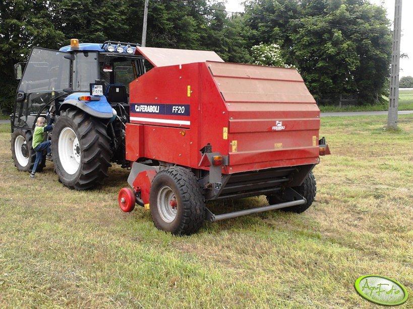 New Holland TD 5030 + Feraboli FF20