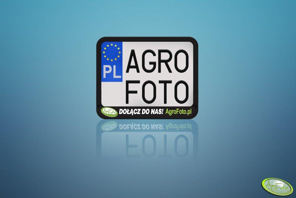 Ramka pod tablicę rejestracyjną AgroFoto.pl
