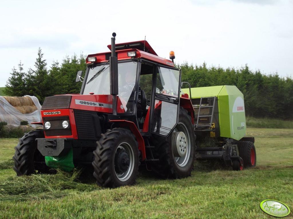 Ursus 1014 & Claas Rollant 350 RF