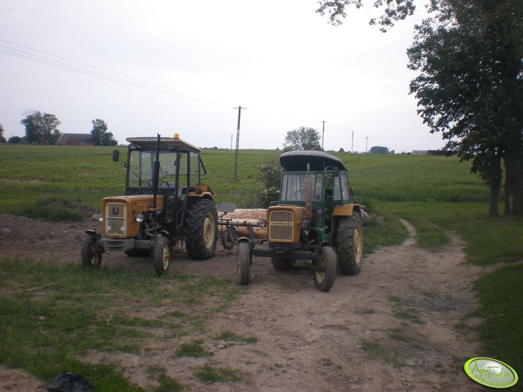 Ursus C-330 & Lej i Ursus C-360 3P & Pielnik