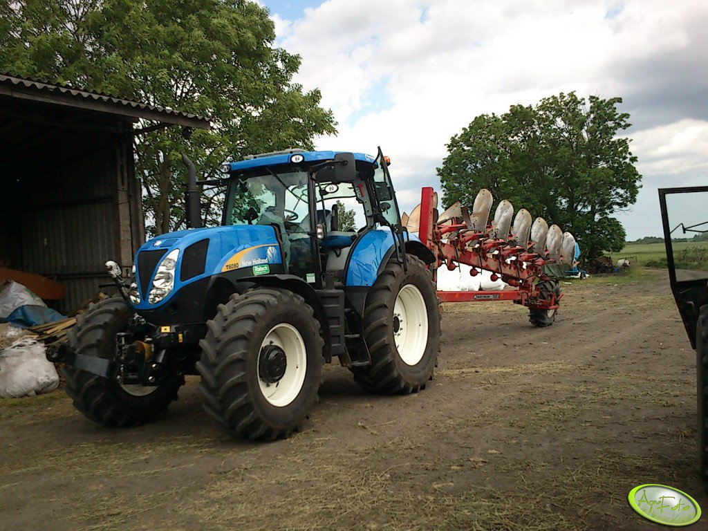 New Holland T6080 PC & Massey Ferguson 725