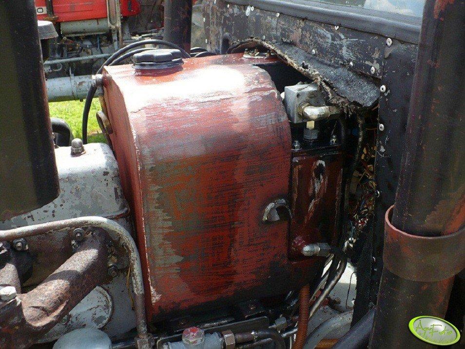 Większy zbiornik paliwa w Ursusie C-330