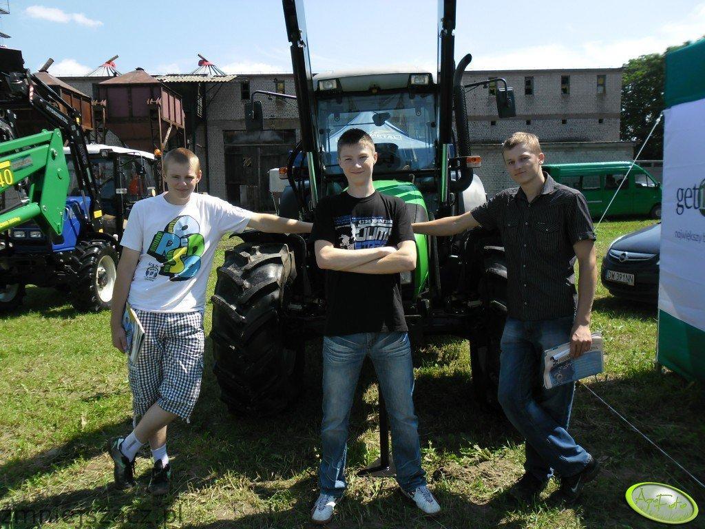 Deutz-Agrofarm 420 & Hydrometal & Farmtrac 80 4WD & Hydrometal At10