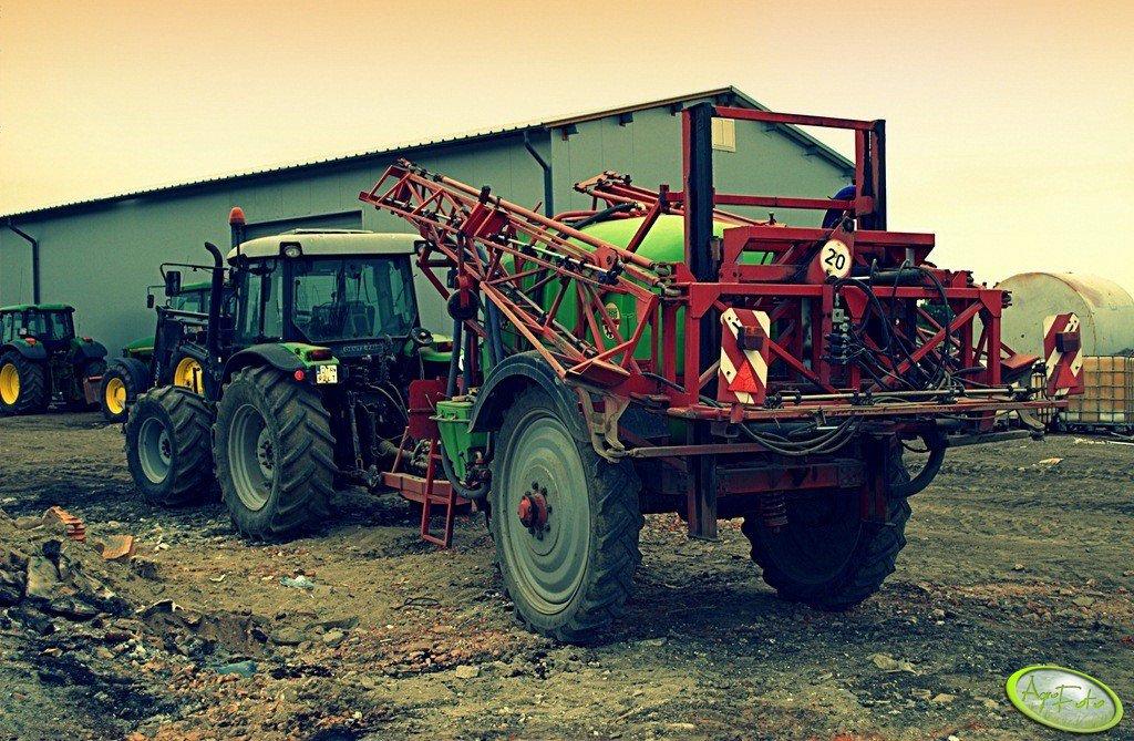 Krukowiak Goliat + Deutz-Fahr Agrofarm 100