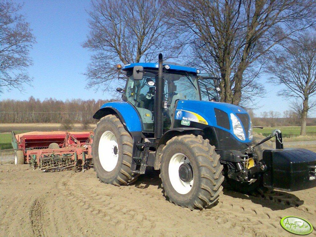 New Holland T6080 PC & Zestaw Uprawowo-Siewny