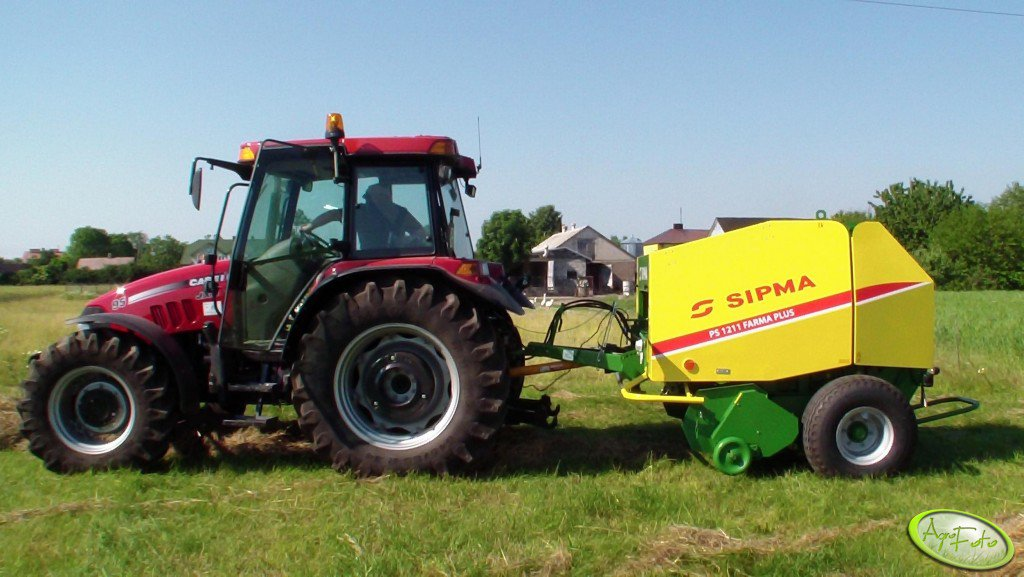 Case JXU 95 + Sipma ps farma plus 1211
