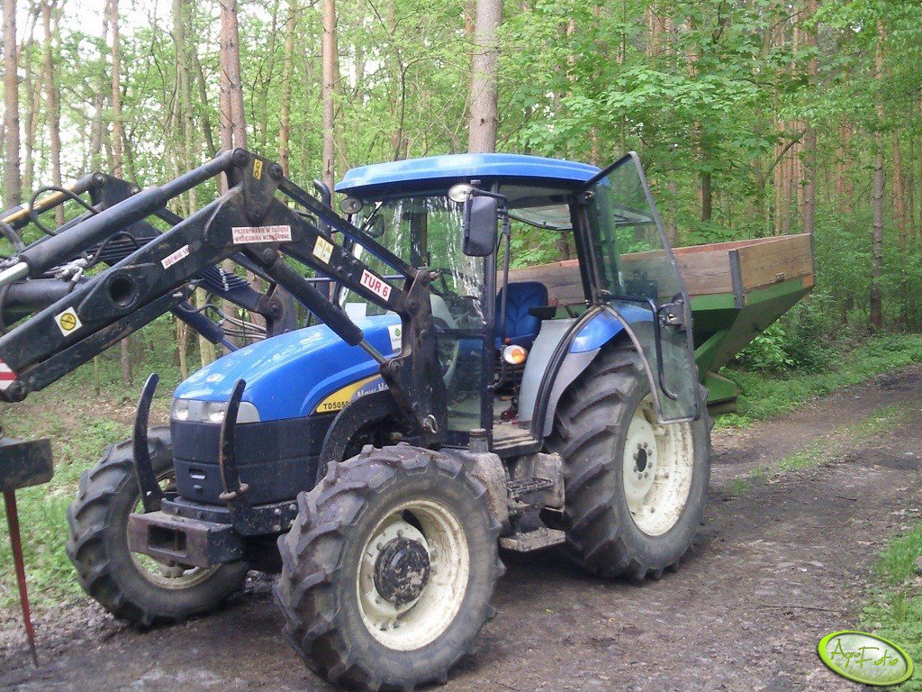 New Holland TD5050 + Amazone