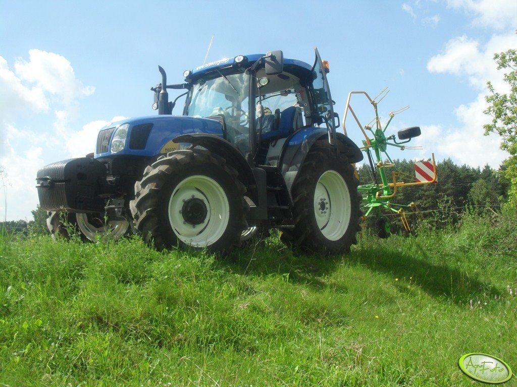 New Holland T 6030 PLUS, SaMASZ P4-530