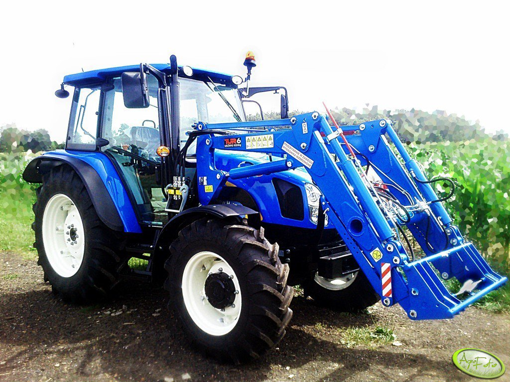 New Holland t5040 i Tur 6 Ursus