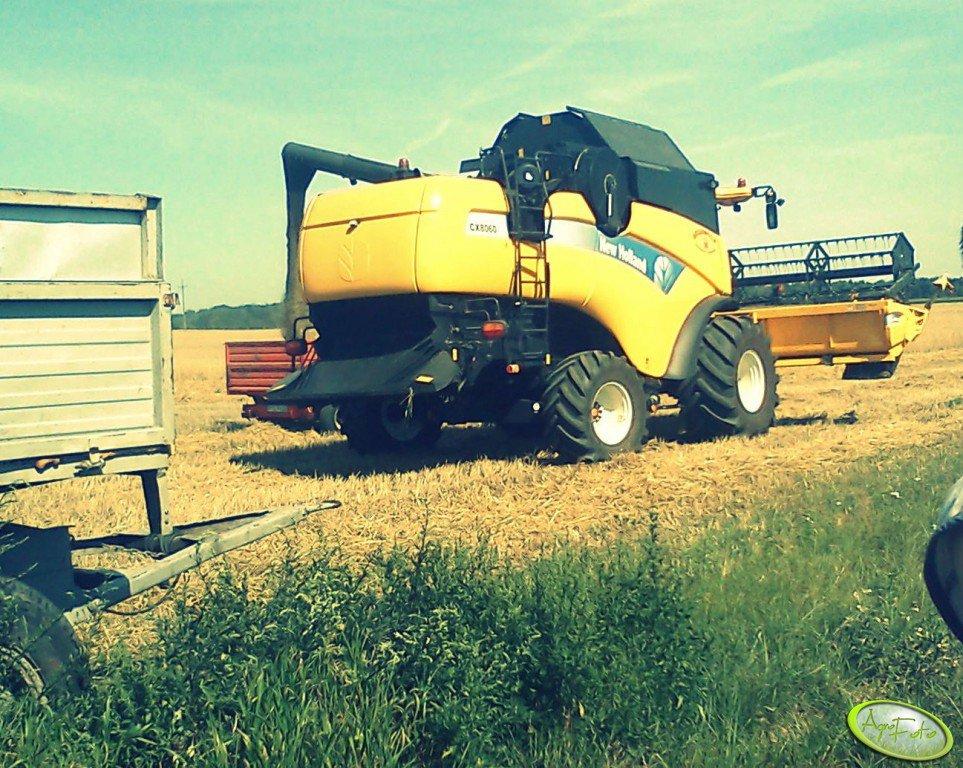 New Holland CX8060 & Ursus C-360 3P